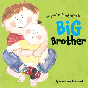 "Mom and Dad told me I am going to be a big brother.""No thanks,"" I said. ""We already have me.""Becoming a big brother is a big change. New babies need lots of attention even though they don't do very much when they're little. But after all the eating, sleeping, and going potty, babies need their big brothers! Beloved bestselling author and illustrator Marianne Richmond shares the humorous journey—and joyful ending—of one child's experience that'll resonate with the little boy in your life. Big Brother is a new classic that's sure to bring together the brother-to-be and the whole expanding family!"