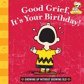 Good grief—another year has passed! And it's time to celebrate with Charlie Brown. This book is filled with birthday wishes and wisdom from the one and only Peanuts gang. This festival of happiness will delight anyone on their special day, no matter what age. Featuring timeless quotes and classic comic strips to help you get over the fact that you're headed into another year. I've developed a new philosophy... I only dread one day at a time. —Charlie Brown. In the book of life, the answers aren't in the back. —Charlie Brown If it seems too complicated, make it easy on yourself...just send money. How about tens and twenties? —Sally von Pelt  Size: 6 x 6 inches 40 pages Format: hardcover
