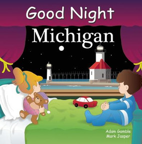 Good Night Michigan highlights Detroit, the scenic Upper Peninsula, Sleeping Bear Dunes, Tahquamenon Falls, Mackinac Island, Henry Ford, Air Zoo, Ann Arbor Street Fair, Frankenmuth, and college sports. Young readers will feel the pride of Michigan as they travel around the state exploring iconic landmarks, sights, and must see attractions. This book is part of the bestselling Good Night Our World series, which includes hundreds of titles exploring iconic locations and exciting, child-friendly themes. Many of North America's most beloved regions are artfully celebrated in these board books designed to soothe children before bedtime while instilling an early appreciation for North America's natural and cultural wonders. Each book stars a multicultural group of people visiting the featured area's attractions as rhythmic language guides children through the passage of both a single day and the four seasons while saluting the iconic aspects of each place.