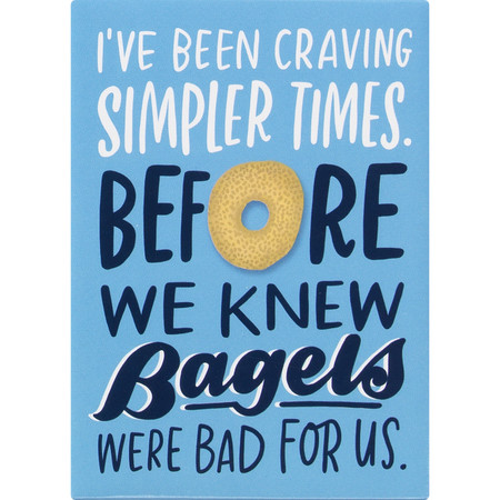 """Dress up your fridge or office with this funny 'simpler times' magnet. Collect them, trade them, gift them, send them, share them, love them!  Size:  2"""" x 3"""""""