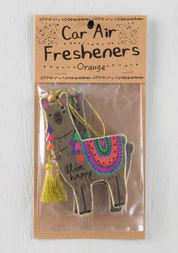 llama air freshener