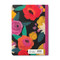 floral patterned she chooses joy journal, back view