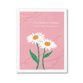 so thankful for friendship friendship card