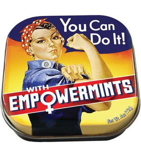 These deliciously strong peppermints are formulated to give you an extra boost when the going gets rough and your confidence sags.