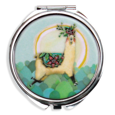 llama love trinket/pill box