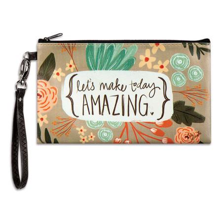 make today amazing zippered bag