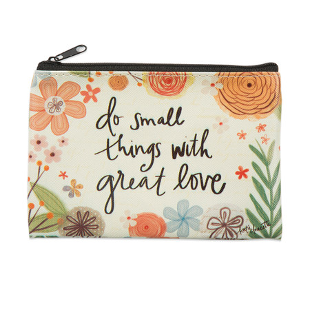 do small things zippered coin purse