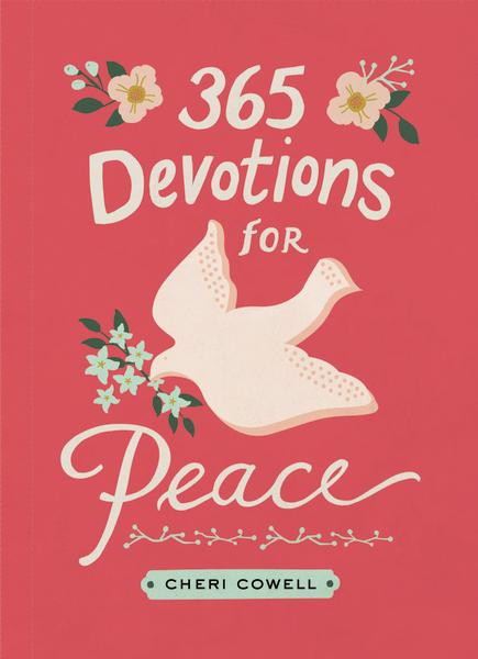 365 devotions for peace, front cover