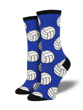 womens bump, set, spike volleyball socks, fits U.S. women's shoe size 5-10.5