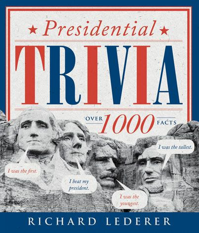 presidential trivia book, 3rd edition