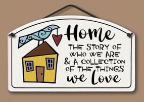 Home: the story of who we are & a collection of things we love