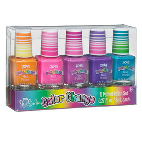 color changing nail polish set