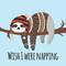 sloths desktop flipbook, inside