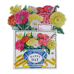 happy day: bouquet in a book