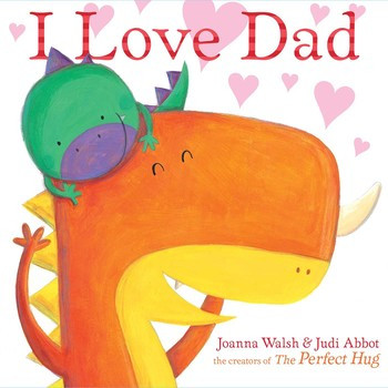 i love dad book