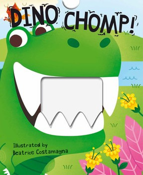 dino chomp board book