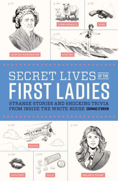 book with stories and shocking trivia from inside the white house