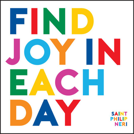 find joy in each day inspirational card