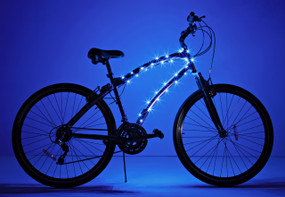 Cosmic Brightz 40 ultra-bright micro LED light wrap blue