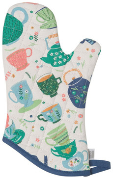 perfect cuppa oven mitt, 100% cotton