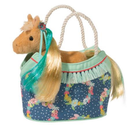 flowers princess horse sassy sak and purse