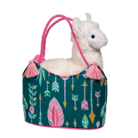 llama aqua dream sassy sak and purse