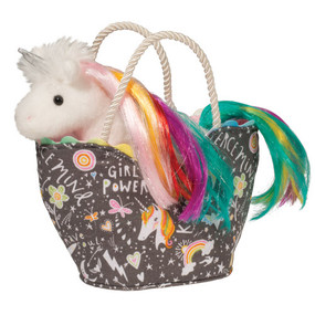 girl power unicorn sassy sak and purse