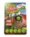 pug popper, includes 6 soft foam balls