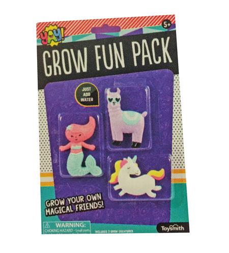 grow fun pack, llama, unicorn, mermaid