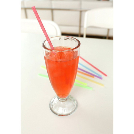 """.25"""" Diameter by 8"""" reusable straw, earth friendly"""