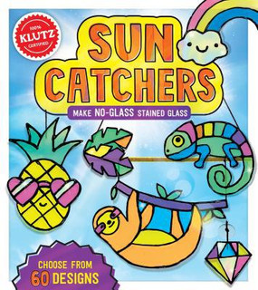 sun catchers kit, stained glass kit, crafts