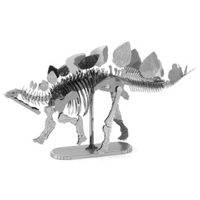stegosaurus metal earth model kit