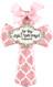 for this child I prayed pink medium cross