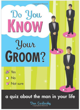 do you know your groom funny bridal wedding shower gift