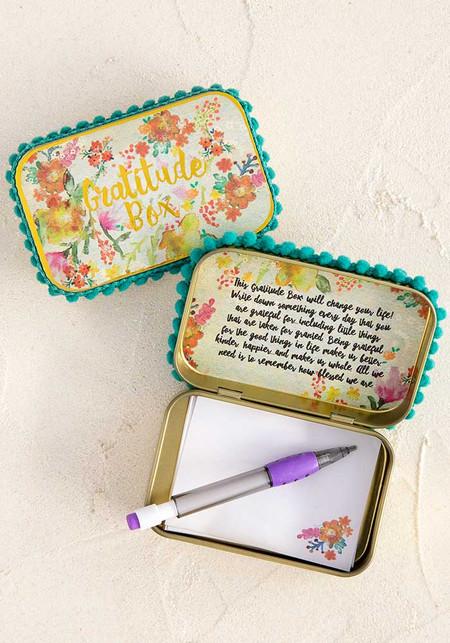 gratitude prayer box, prayer
