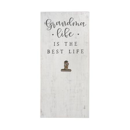 grandma life - picture clip, 5.5 x 12 x 1.25