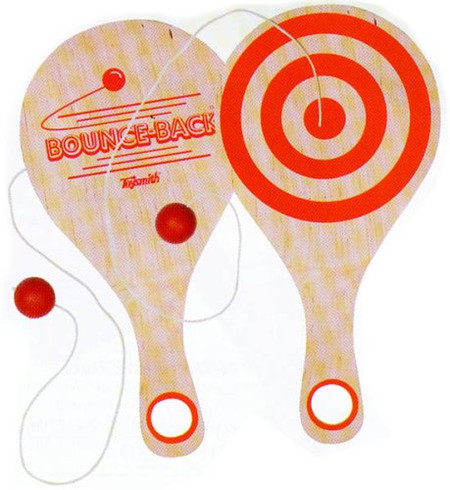 paddle ball, retro toy