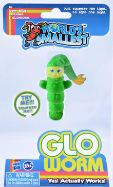 world's smallest glo worm, retro toy