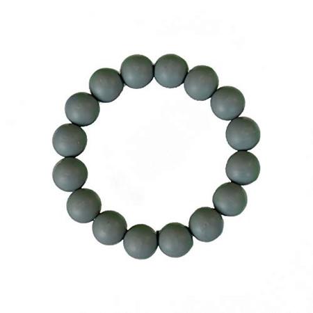 chewlery bracelet gray, teething bracelet