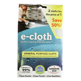 general purpose e-cloth - 2 pack