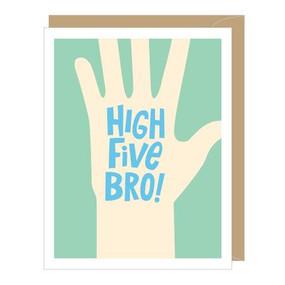 high five bro graduation