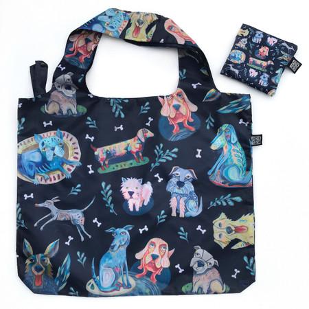 dog park fabric foldable bag, 19″ (h) x 24″ (w)