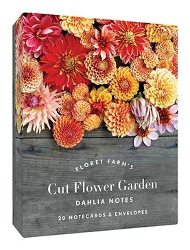 floret farm's cut flower garden: dahlia notes, note cards