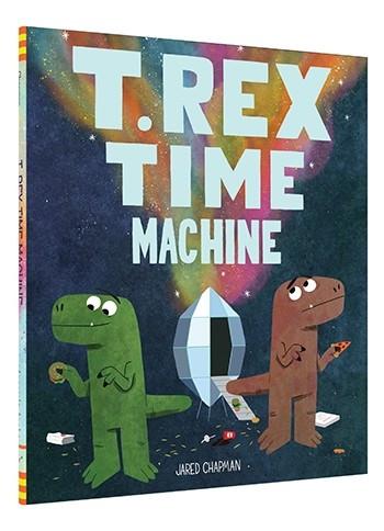t. rex time machine, children's book