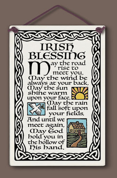 irish blessing sign