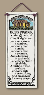 irish prayer sign