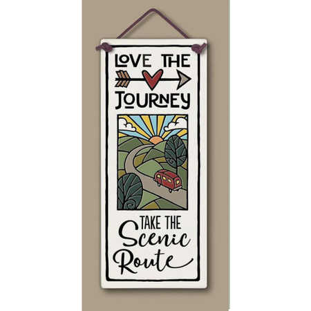 love the journey sign