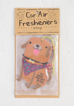 hang with my dog air freshener