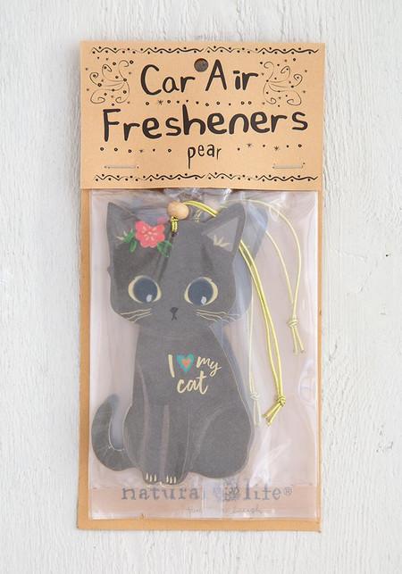 i love my cat air freshener