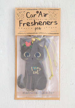 i love my cat air freshener